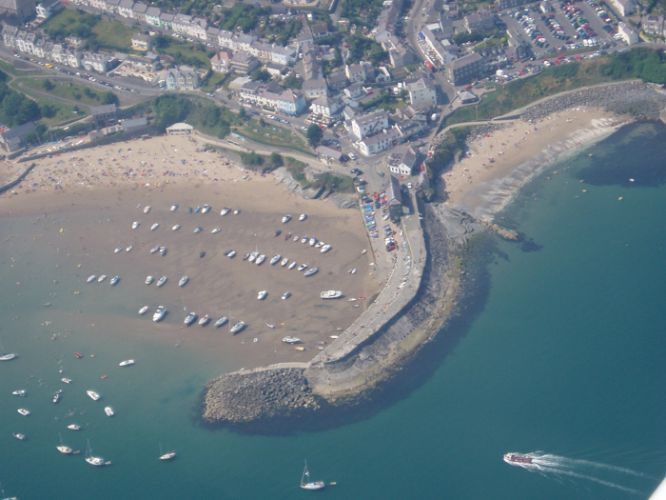 New Quay Harbour and Beaches