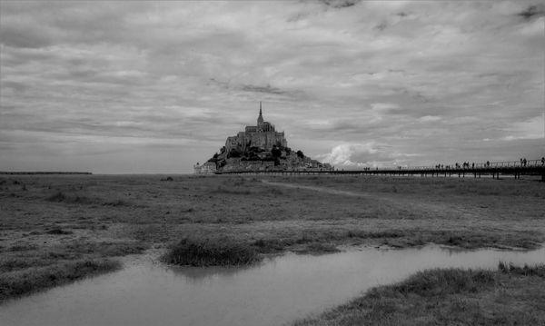 Mont St-Michel Normandy- France