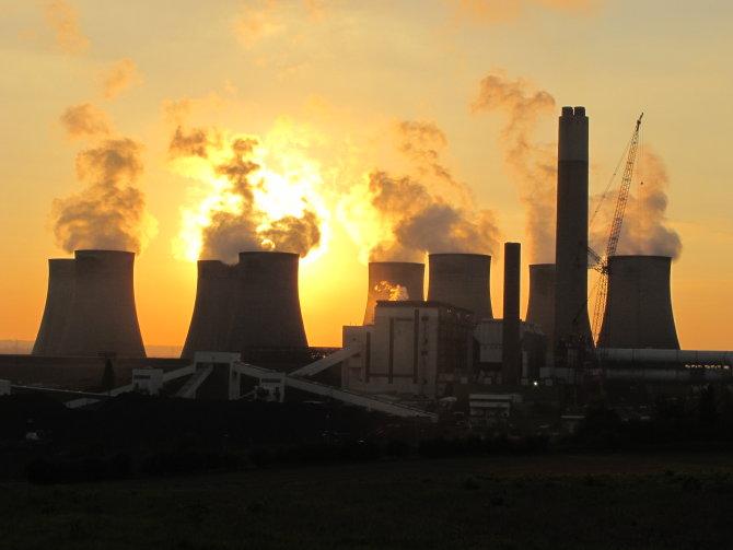 Ratcliffe Sunset