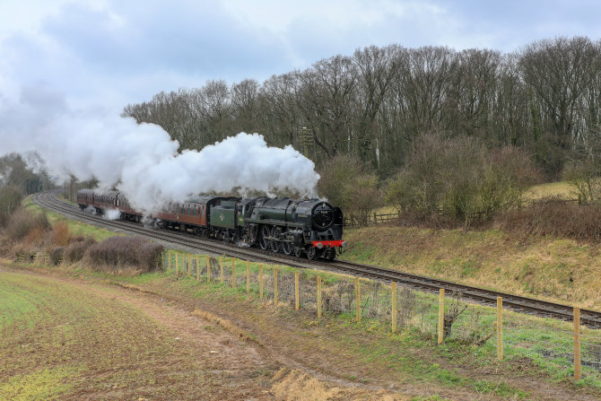 Steaming Through Leicestershire