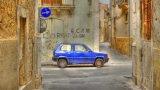Blue Fiat
