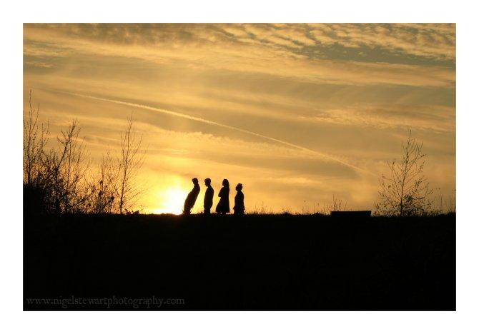 Gedling Family Sunset