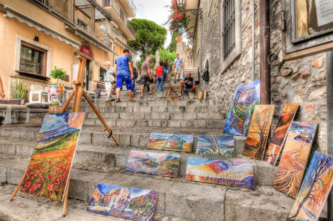 Local Artist's Displaying Their Artwork