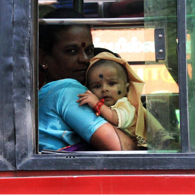 Mother & Child Passengers