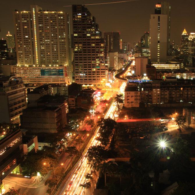 Bangkok Night Scape