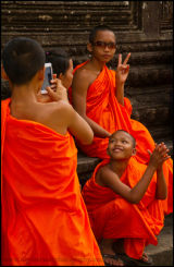 Bhudist monks