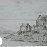 eilean donan castle 9x12 drawing