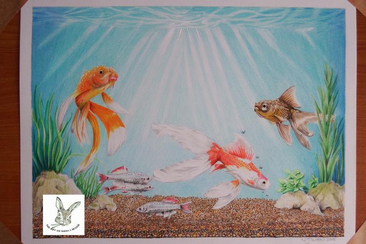 fish tank (commission)