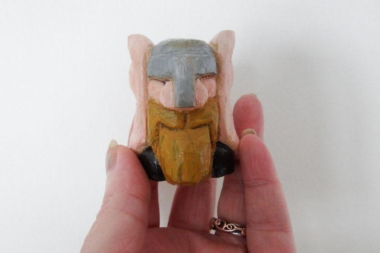 (sale)wood dwarf £5 p&p £2