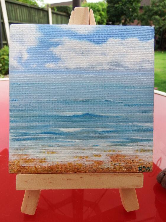 mini canvas3x3inch 'dream' (sold)