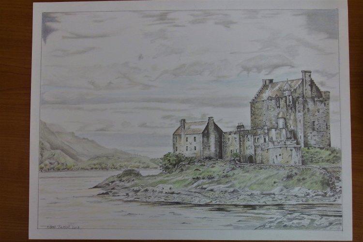 eilean donan castle (sold)