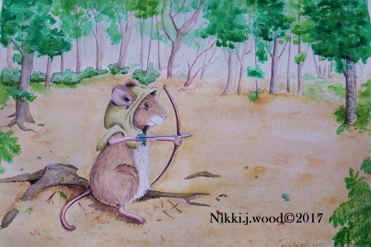 Robin woodmouse