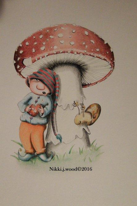 the mushroom elf (sold)