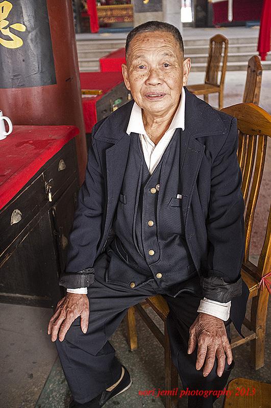 Chinese Temple Volunteer