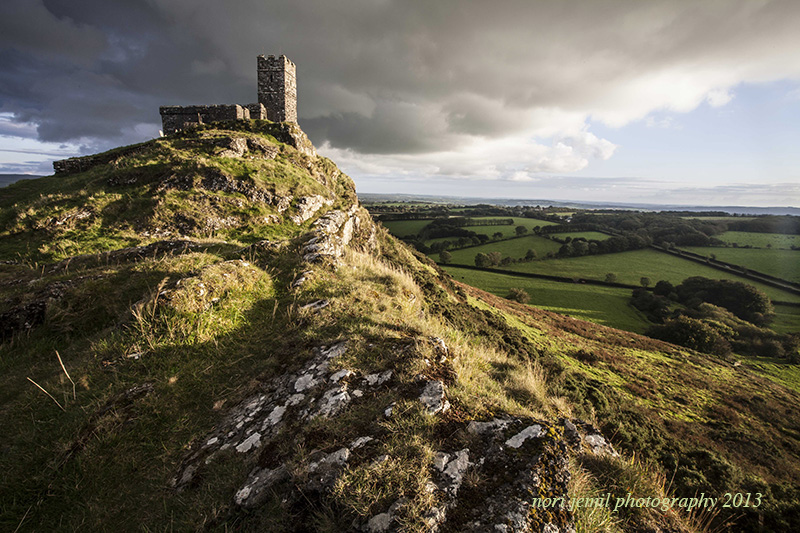 Brentor by Sunset