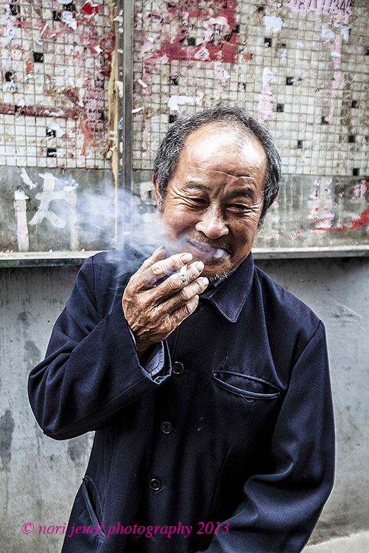 Smoking in the Hutong