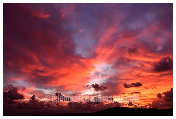 Sunrise Bembridge Down.