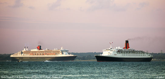 Queen Mary & QE2
