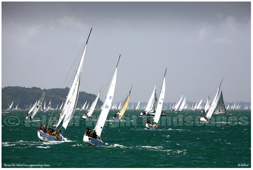 Approaching Cowes