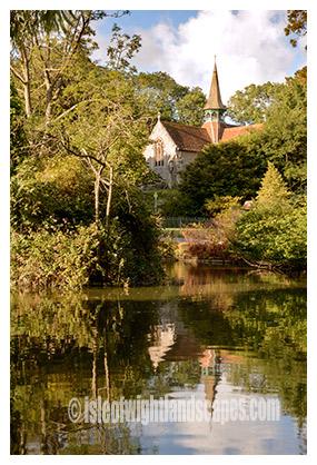The Duck pond Shanklin.