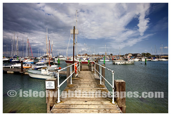 Yarmouth Harbour.