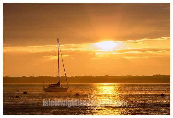 Yarmouth sunset