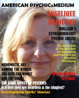 Large interview in the American Psychic & Medium magazine