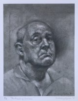 AN OLDER MAN.       Charcoal and graphite