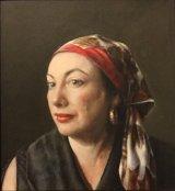PORTRAIT OF JANE.   FIRST PRIZE WINNER   HAWORTH GALLERY OPEN