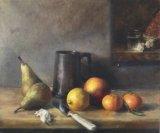 Homage to Chardin.   Acrylic
