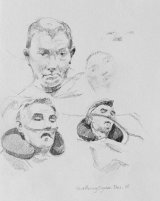 Studies of Male Hospital patients.      Graphite
