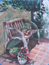 Kay and Brett's Garden Bench San Luis Obispo California