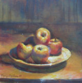 The Plate of Apples 1