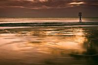 Beacon on Gorleston Beach