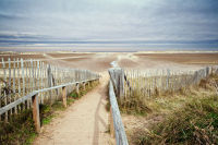 Slope to Holkham Beach