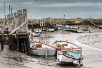 Moored at Morston Quay