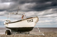 Boat on Cley Beach