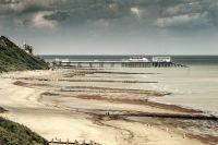Cromer pier from Overstrand