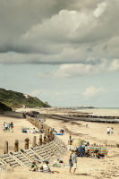 Cromer Pier from Overstrand Beach