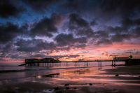 Sunrise over Cromer Pier