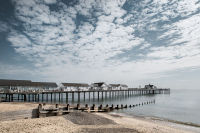 Southwold Pier and Groyne
