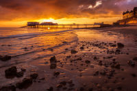 Golden sunrise at Cromer