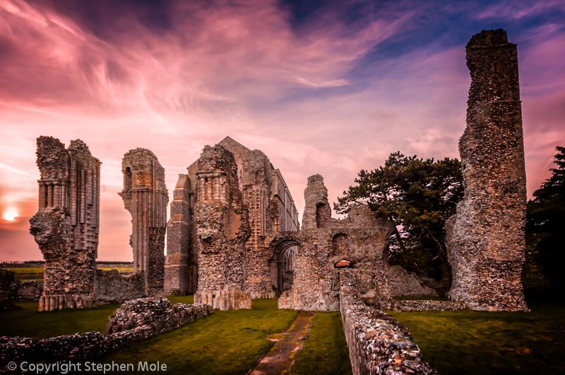 Binham Priory in Norfolk