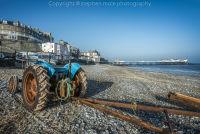 Cromer Tractor on Beach