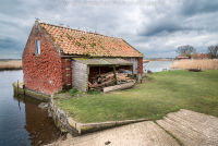 Old Boat House at Stokesby