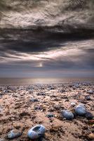 Pebbles at dawn