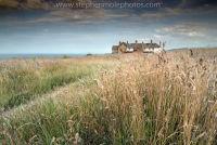 Houses on Cliff Edge