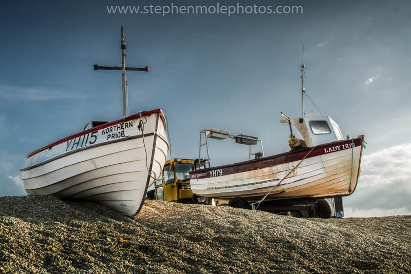Boats at Weybourne