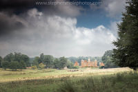 Blickling Hall across the field