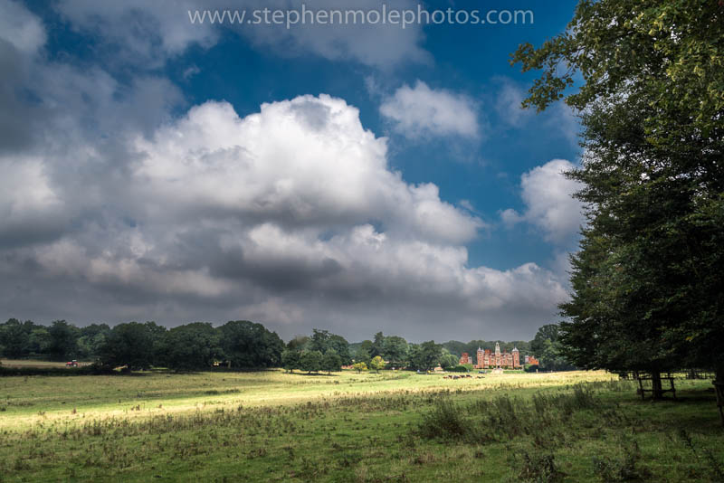 Blickling Hall in the sunshine